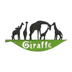 African Animals embroidery design
