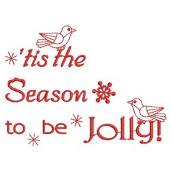 Redwork Christmas embroidery design