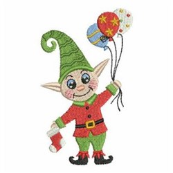 Christmas Decorations Elf embroidery design