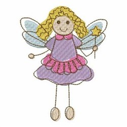 Little Fairies embroidery design