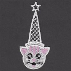 FSL Cat Bookmark embroidery design