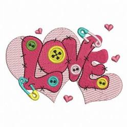 Sewing Love embroidery design