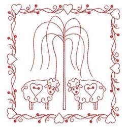RW Sheep embroidery design
