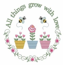 All Things Circle embroidery design