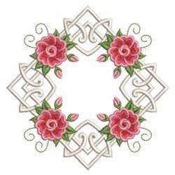 Rose Diamond embroidery design