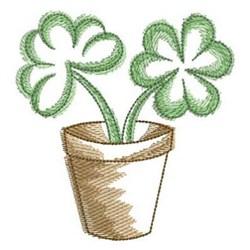 Irish Shamrocks embroidery design