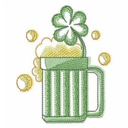 Irish Beer embroidery design