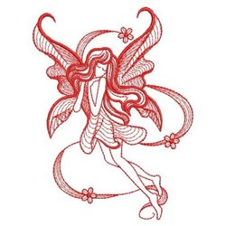 RW Fairy embroidery design
