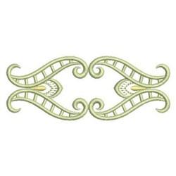 Satin Swirl Border embroidery design