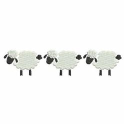 Sheep Border embroidery design