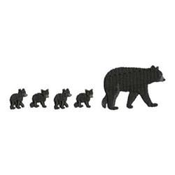 Mother Bear Border embroidery design