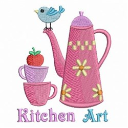 Country Kitchen Art embroidery design