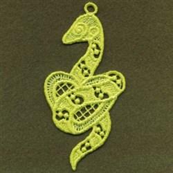 FSL Snake embroidery design