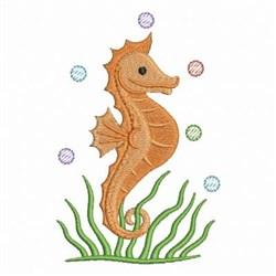 Seahorse Under The Sea embroidery design