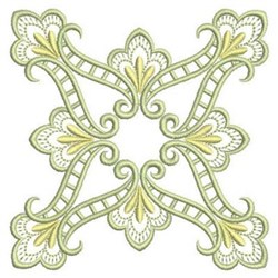 Satin Quilt Block embroidery design