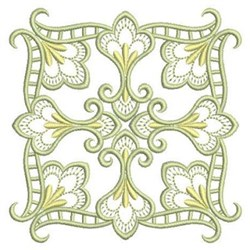 Heirloom Quilt Square embroidery design