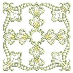 Quilt Satin Block embroidery design