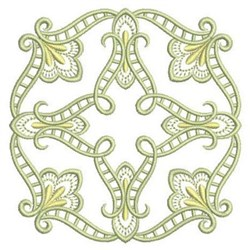 Satin Quilt Block embroidery design