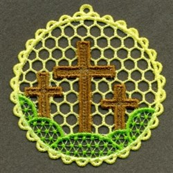 FSL Cross Scene embroidery design