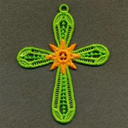 FSL Sunshine Cross embroidery design