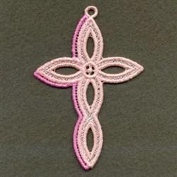 FSL Decorative Cross embroidery design