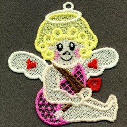 FSL Cupid Girl embroidery design