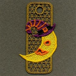 FSL Witch Halloween Bookmark embroidery design