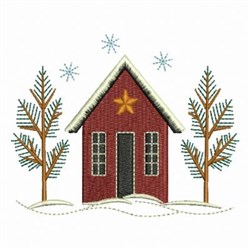 Country House embroidery design