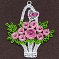 FSL Love Basket embroidery design