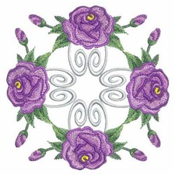 Roses Quilt embroidery design