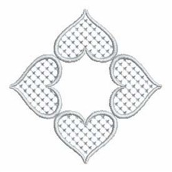Quilt Hearts embroidery design