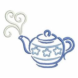 Teapot embroidery design