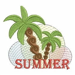Summer Trees embroidery design