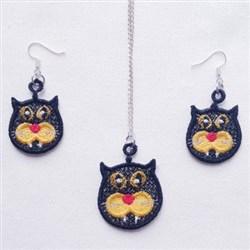 FSL Cat Jewelry embroidery design