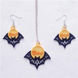 FSL Bat Jewelry embroidery design
