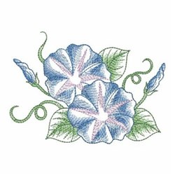 Morning Glory embroidery design