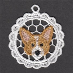 FSL Welsh Corgi embroidery design