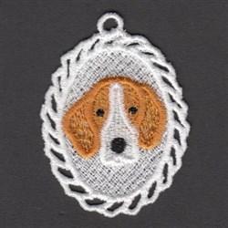 FSL Fox Hound embroidery design