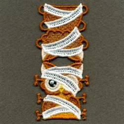FSL Mummy Owl Puppet embroidery design