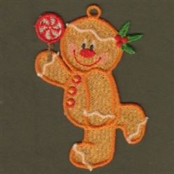 FSL Christmas Gingerbread embroidery design