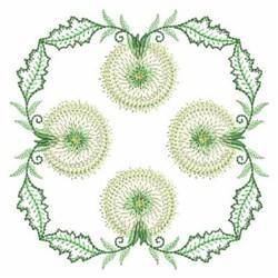 Dandelion Square embroidery design