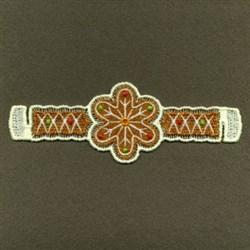 FSL Christmas Napkin Ring embroidery design