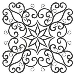Quilt Swirl embroidery design
