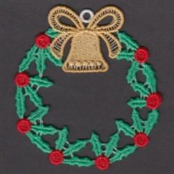 FSL Holly Wreath embroidery design