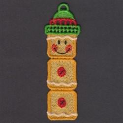 FSL Snowman Bookmarks embroidery design
