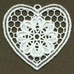 FSL Flower Heart embroidery design