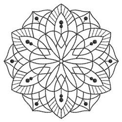 Blackwork Quilt embroidery design