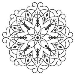 Quilt Blackwork embroidery design