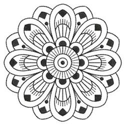 Blackwork Quilt Decor embroidery design