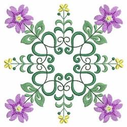 Quilt Floral Decor embroidery design
